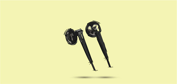Electronic Headphones & Earphones